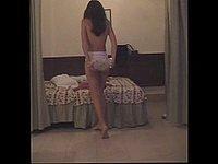 Geiles Mädchen nackt und beim Sex mit dem Freund
