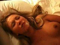 Geile Blondine zum Fick im Hotel getroffen
