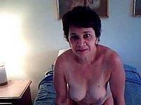 Reife Hausfrau beim Vibrator Sex