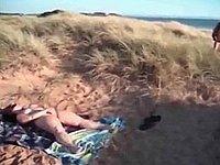 Lust und Leidenschaft am Strand in den D�nen